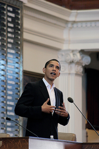 barack obama at texas book festival